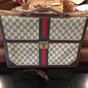 Gucci Briefcase. Authentic. Vintage.